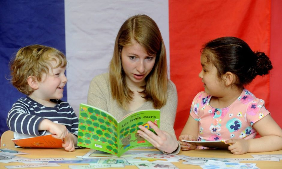 From August, all Scottish primary schools will teach two foreign languages.