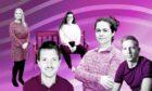 L - R Debbie Muirhead, Jamie McLeish, Sascha Brown, Sarah Anderson and Calum Spence.