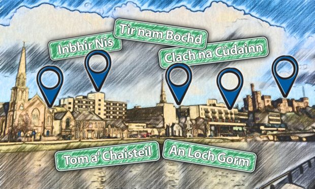 A new book written by Roddy Maclean (Ruaridh McIlleathain) and published by NatureScot shows the stories behind place names around Inverness.