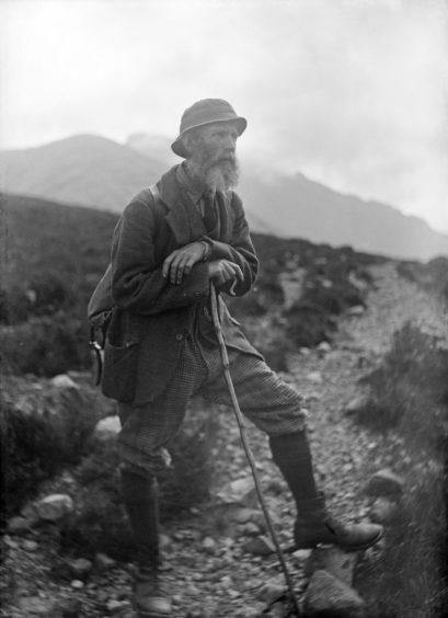 John Mackenzie, guide, of Skye. Slighachan Skye. Supplied by National Museum of Scotland