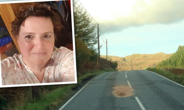 Julie Goodman died in the crash on the A816 near Kilmelford in 2018.