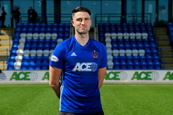 New Cove Rangers signing Morgyn Neill.