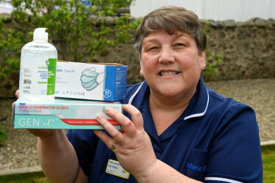 """Senior nurse Ann-Marie Craig delivered PPE to """"brave"""" health workers during pandemic"""