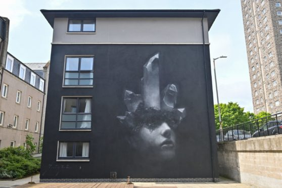 Henrik Uldalen has created an attention-grabbing artwork for this year's Nuart festival.