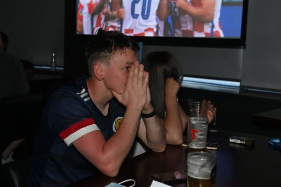 Fans are heading home disappointed after Scotland's 3-1 defeat at Hampden