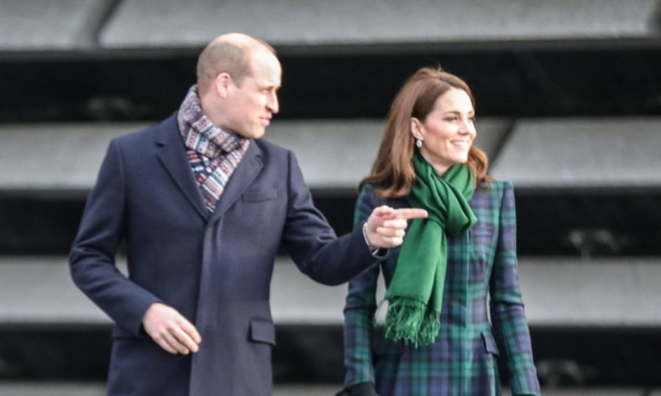 William and Kate have been spending time in Scotland.