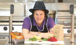 Stromness school chef Karen Bevan