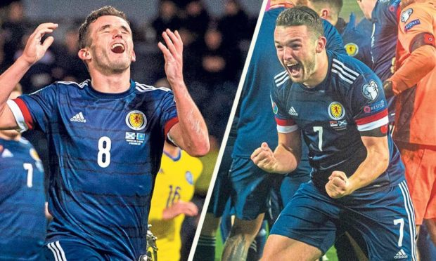 Delete as appropriate: Scotland were frustrated/elated during their match with England at Wembley last night.