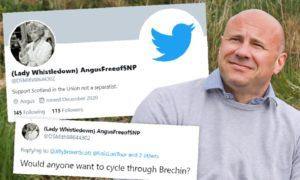 Tory councillor Derek Wann has denied running an anonymous troll account.