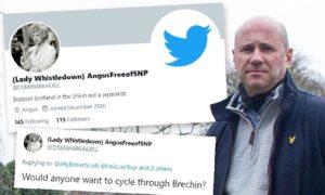 Derek Wann has been unmasked as the man behind an anonymous troll account.