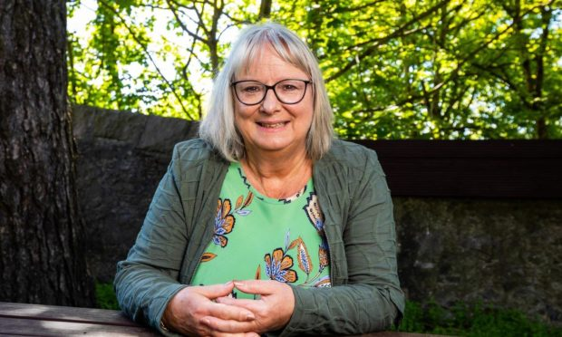 Retired lecturer Liz Clark from Cults