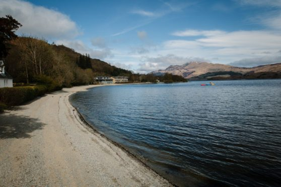 The banks of Loch Lomond. Picture by Andrew Cawley