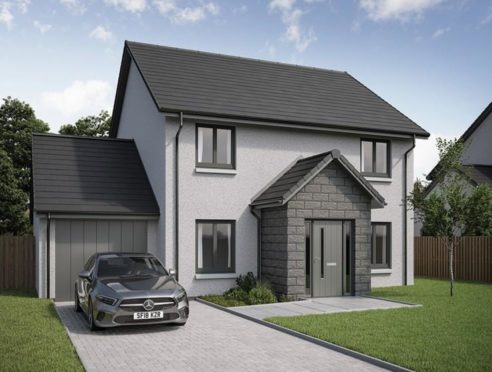 The stunning four-bedroom Lochbuie showhome at Crest of Lochter