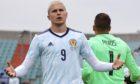 Scotland striker Lyndon Dykes.