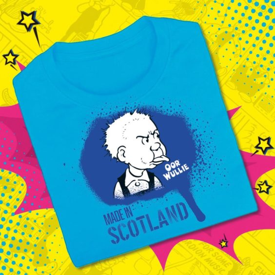 Oor Wullie Made in Scotland T-Shirt.