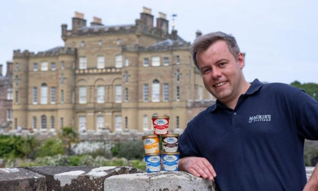 Mackie's of Scotland food service manager, Graham Park at Culzean Castle & Country Park.