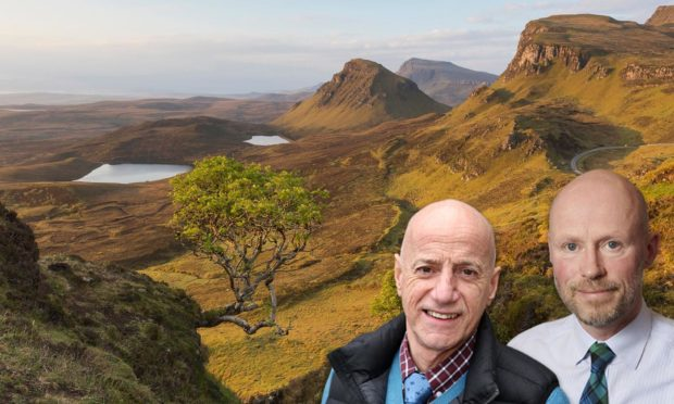 Councillors John Finlayson and Callum Munro are hoping the seasonal rangers can help alleviate some of the tourism pressure.