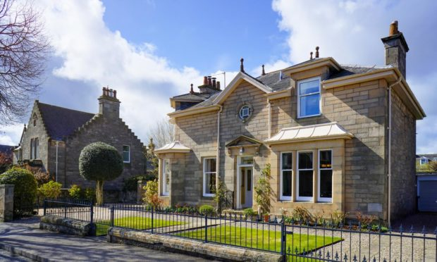Norham, in Elgin, has a guide price of £595,000.