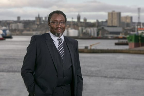 Ollie Folayan, chair of AFBE-UK Scotland.