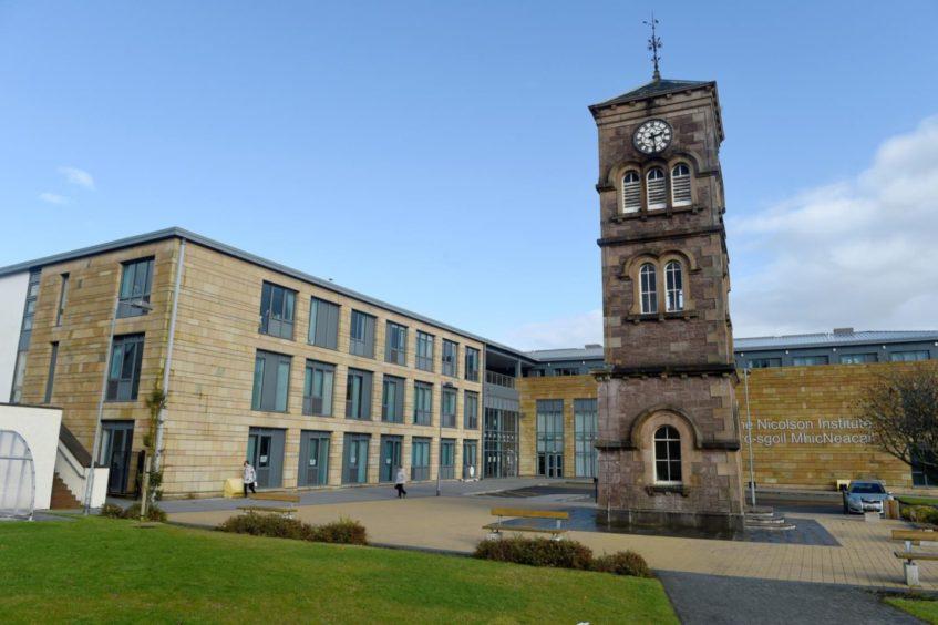 The Nicolson Institute in Stornoway.