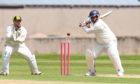 Gordonians' batsman Himanshu Saraswat in action. Picture by Paul Glendell.