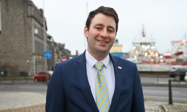 Councillor Michael Hutchison wants the £150m city centre and beach masterplan area expanded to include more of the waterfront.