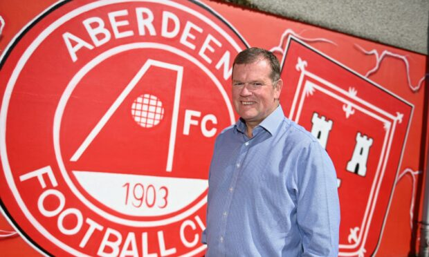Rob Wicks is looking forward to fans returning to Pittodrie