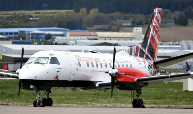 Loganair has flown flights from Aberdeen to the islands through the pandemic.