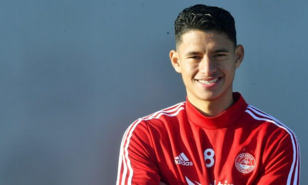 Aberdeen full-back Ronald Hernandez is on loan at Atlanta United