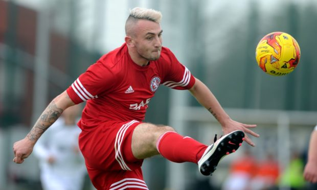 Paul Brindle enjoyed a trophy-laden spell with Brora but has now joined Forres Mechanics