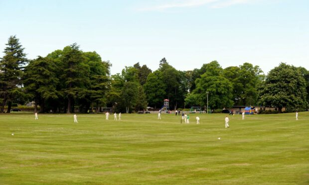 Grant Park in Forres.
