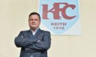 Keith chairman Andy Troup has welcomed Brechin City to the Highland League. Picture by Jason Hedges