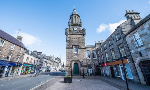 Forres High Street was named the most beautiful in Scotland in 2017.
