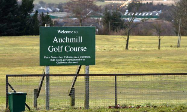 Auchmill Golf Course on Bonnyview Road, Aberdeen