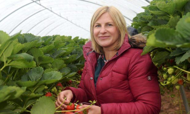 Anna Mitchell, co-owner of Castleton Farm