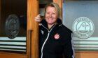 Aberdeen FC Women's manager Emma Hunter