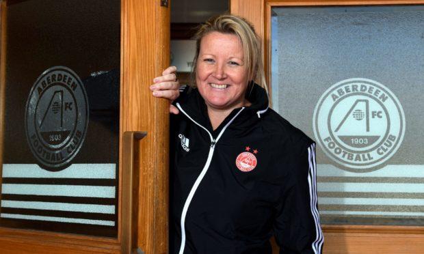 Aberdeen FC Women's manager Emma Hunter.