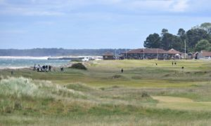 Nairn Golf Club, the venue of this week's Amateur Championship.  Picture by Sandy McCook