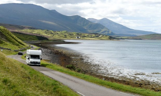 Concerns about campervans have been raised in Dores near Loch Ness and in Durness in Sutherland.