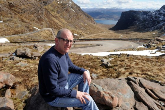 Applecross Community Council chairman John Glover has concerns about the number of NC500 visitors struggling to get over the Bealach nam Ba