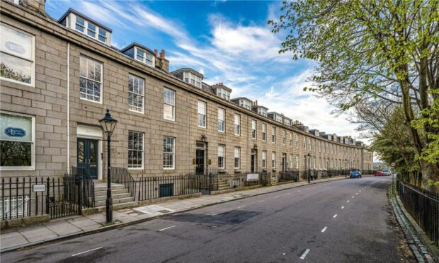 10 Bon Accord Crescent on the market for £150,000.