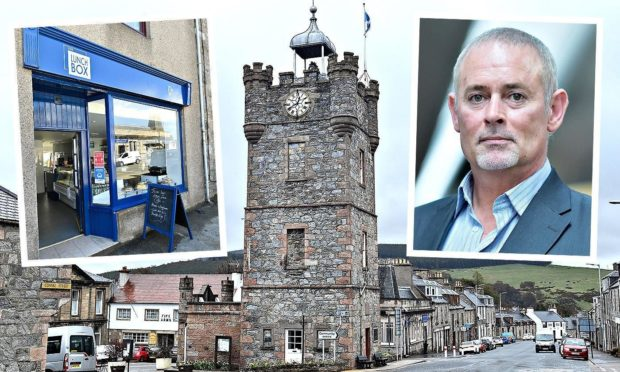 Scotland's Towns Partnership chief Phil Prentice backs Truerlein's ambitious plans to breathe new life into Dufftown.