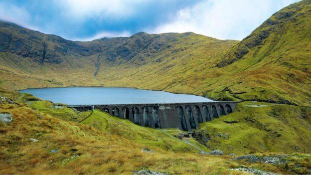 Cruachan Dam.