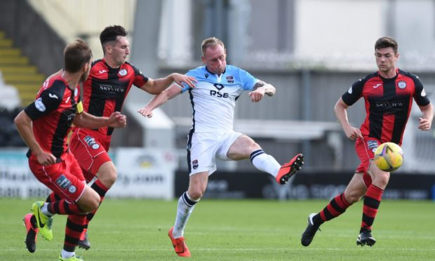 Carl Tremarco in action for Ross County against St Mirren last season. Picture by Ross MacDonald/SNS Group