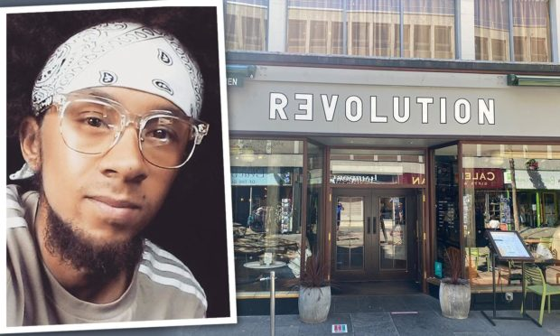 Recardo Colbridge attacked the man in Inverness' Revolution bar