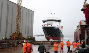The MV Glen Sannox was expected to be ready this summer.