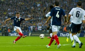 Scotland will face England at Wembley in the Euros tomorrow