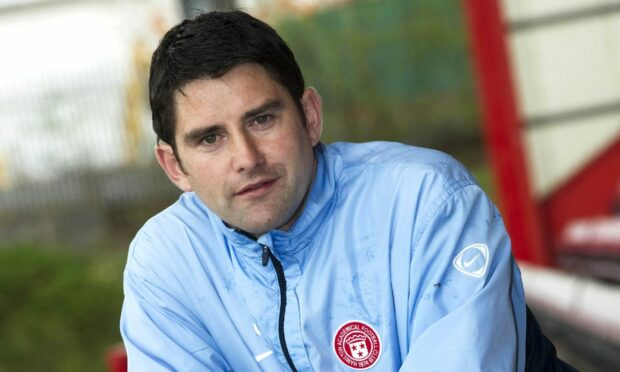 Stuart Taylor, who was formerly a player and assistant manager with Hamilton Accies.