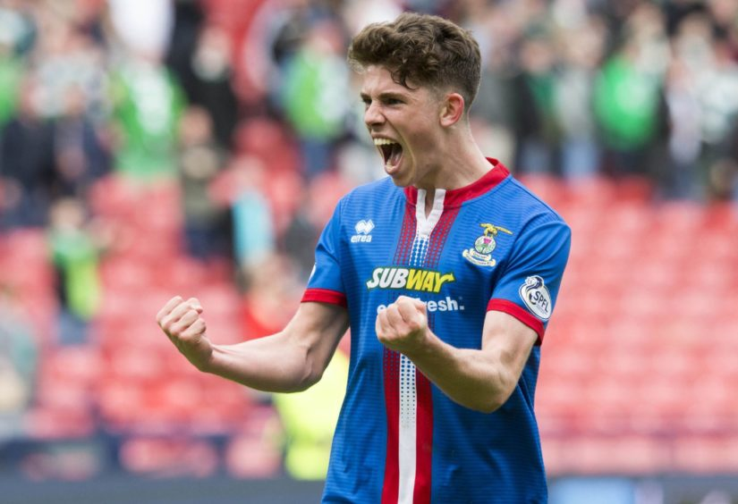 Ryan Christie during his days at Caley Thistle.