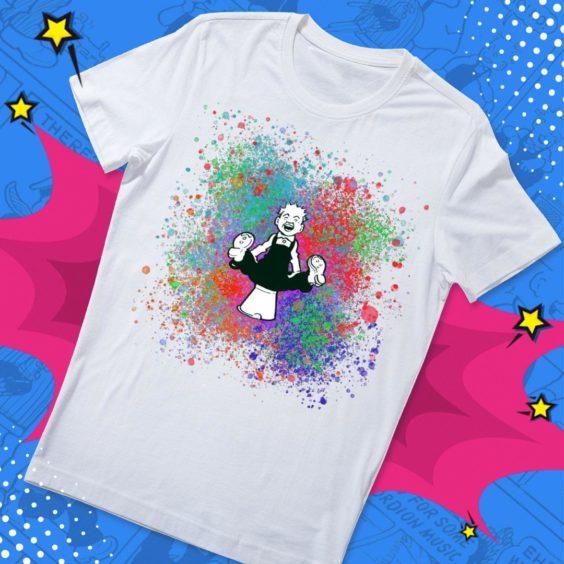 Oor Wullie Spray Paint T-Shirt.